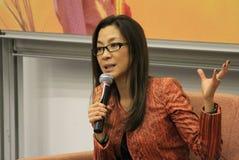 Michelle Yeoh Immagine Stock Libera da Diritti