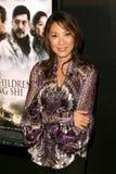 Michelle Yeoh royaltyfri bild