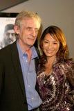Michelle Yeoh Roger Spottiswoode arkivfoto