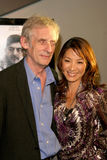 Michelle Yeoh,Roger Spottiswoode Stock Photo
