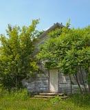 Michigan abandonado una escuela del sitio Imagenes de archivo
