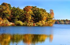 Michigan Autumn Landscape Royalty Free Stock Photography