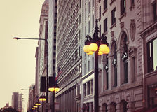 Michigan Avenue Buildings Stock Images