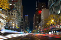 Michigan Avenue in Chicago. Stock Photography