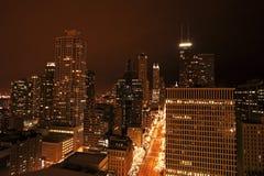 Michigan Avenue in Chicago Stock Image
