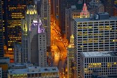 Michigan Avenue Chicago Stock Images