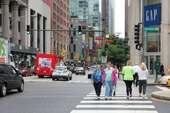 Michigan Avenue, Chicago Royalty Free Stock Image