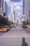 Michigan Avenue, downtown Chicago, IL Royalty Free Stock Photo