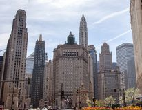Michigan Avenue Icons Stock Photography