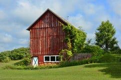 Michigan Barn. Image of a rustic barn taken near Traverse City, Michigan Stock Photo