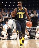 Michigan basketspelare #10 Tim Hardaway Jr. Royaltyfri Bild