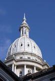 Michigan Capital. State capital, Lansing Michigan Stock Photo