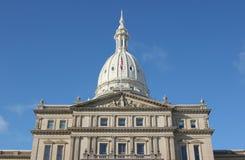 Michigan Capital. State capital, Lansing Michigan Royalty Free Stock Images