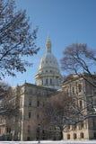 Michigan Capital. State capital, Lansing Michigan Stock Photos