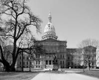 Michigan Capitol Building Stock Photo