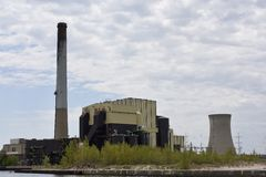 Michigan City Generating Station Stock Photos