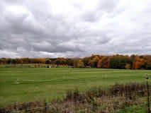 Michigan Farm. Tollgate Farm. Michigan State University. Education Center Royalty Free Stock Photos