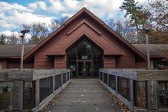 Michigan Forest Visitors Center Arkivfoton