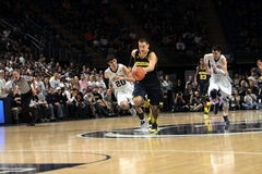 Michigan forward #4 Mitch McGary Royalty Free Stock Image