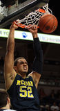 Michigan forward Jordan Morgan Royalty Free Stock Photos