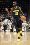 Michigan guard Tim Hardaway Jr. Royalty Free Stock Photos
