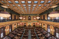 Michigan-Haus-Kammer stockfotos