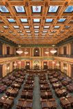 Michigan House Chamber. House of Representatives chamber of the Michigan State Capitol at 100 N Capitol Avenue in Lansing, Michigan Stock Image