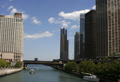 Michigan Lake. In Chicago Royalty Free Stock Photography