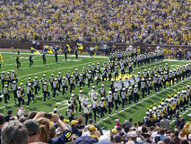 Michigan Marching band Stock Images