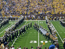 Michigan Marching Band Block M Stock Image