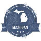 Michigan ocena ilustracja wektor