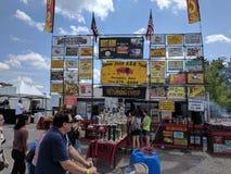 Michigan rib fest 2017 royalty free stock image