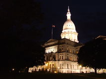 Michigan's Capitol Building Royalty Free Stock Photography