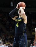 Michigan's Mitch McGary No. 4 Royalty Free Stock Images