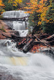 Michigan's Sable Falls Royalty Free Stock Image