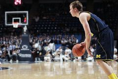 Michigan's Spike Albrecht No. 2 Royalty Free Stock Image