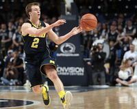Michigan's Spike Albrecht No. 2 Stock Photo