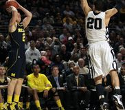 Michigan's Spike Albrecht No. 2 Stock Photos