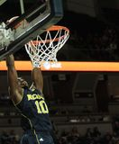 Michigan 's Tim Hardaway Jr. goes up for a slam dunk Stock Photo