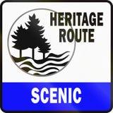 Michigan Scenic Heritage Route Stock Image
