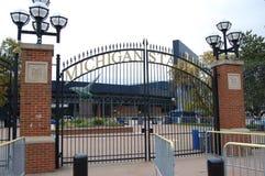 Michigan Stadium Ann Arbor, Michigan U.S.A. fotografie stock libere da diritti