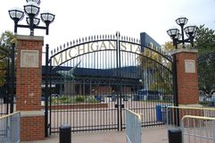 Michigan Stadium Ann Arbor, Michigan usa zdjęcia royalty free