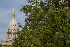 Michigan State Capitol Royalty Free Stock Photography