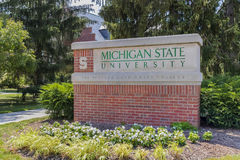 Michigan State University Campus Royalty Free Stock Image
