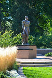 Michigan State University Campus. Sparty Spartan Statue at Michigan State University in East Lansing, Michigan Royalty Free Stock Images