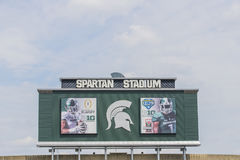 Michigan State University Spartan Stadium Royalty Free Stock Image