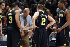 Michigan-Trainer John Beilein Stockbild