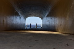Michigan Tunnel Park Stock Photo