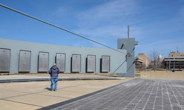 Michigan Vietnam Memorial and Capitol Royalty Free Stock Photos