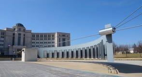 Michigan Vietnam minnesmärke och Hall av rättvisa royaltyfri bild